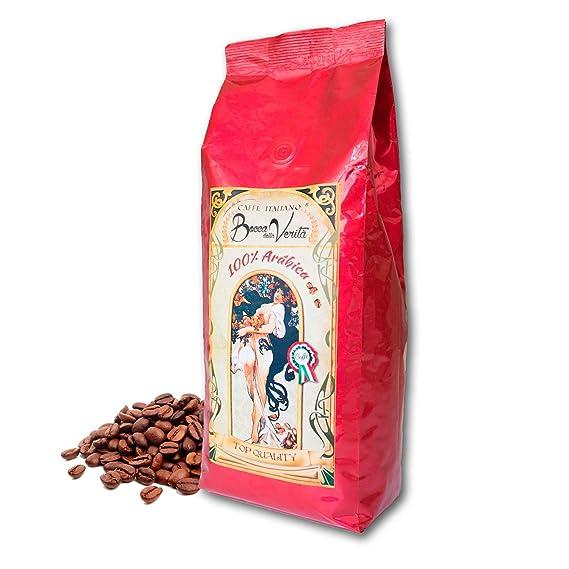 Café Torrefacto 100% ARÁBICA EN GRANOS - 1 Kg - Bocca della Verità - Café
