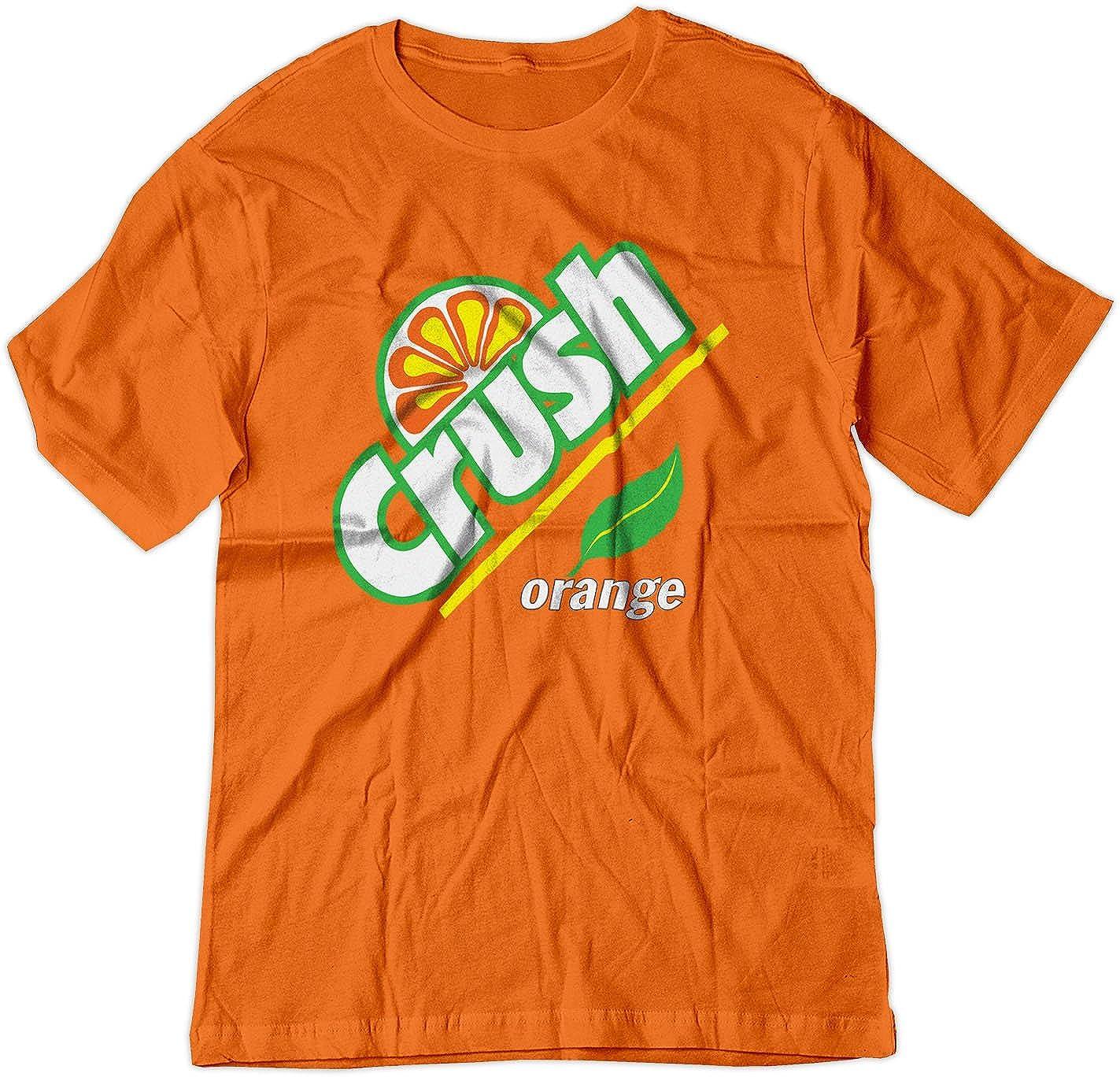 BSW YOUTH Orange Crush Carbonated Soda Beverage Vintage Shirt 1254-1Y