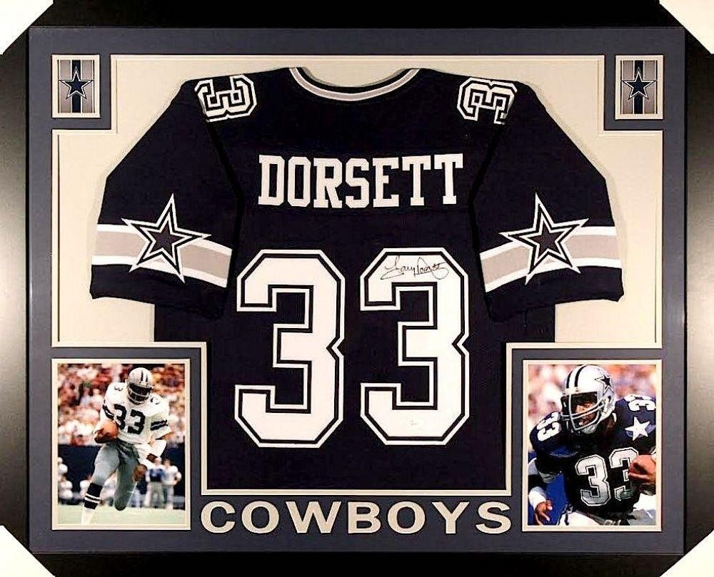 dfa5f81157d Amazon.com  Autographed Tony Dorsett Jersey - 3543 Custom Framed COA) - JSA  Certified - Autographed NFL Jerseys  Sports Collectibles