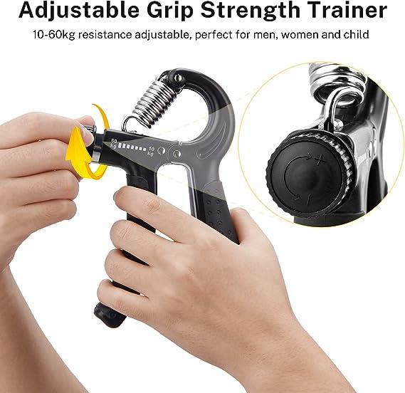 Handtrainer Unterarm-Trainer Fingertrainer 5-60 Kg 2er Set Fitness Sportgerät