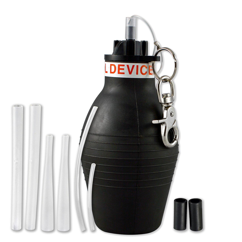 Aspectek Bulb Powder Duster Kit, Pest Control Device Delta, Pyganic Drione, Diatamaceous Earth Granule Bait by Aspectek