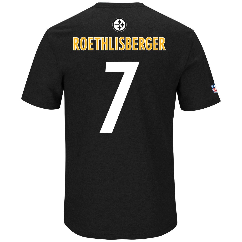 Majestic NFL maglietta maglietta maglietta – Pittsburgh Steelers Qb ben Roethlisberg, Uomo, nero, XXX-Large | Qualità E Quantità Garantita  | Qualità e quantità garantite  | Eccellente valore  | Prima Consumatori  | bello  924291