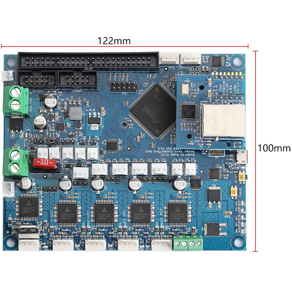 SODIAL 3D Printer Kit Duet Ethernet Control Panel + 7 Full Color Contact Display by SODIAL (Image #4)