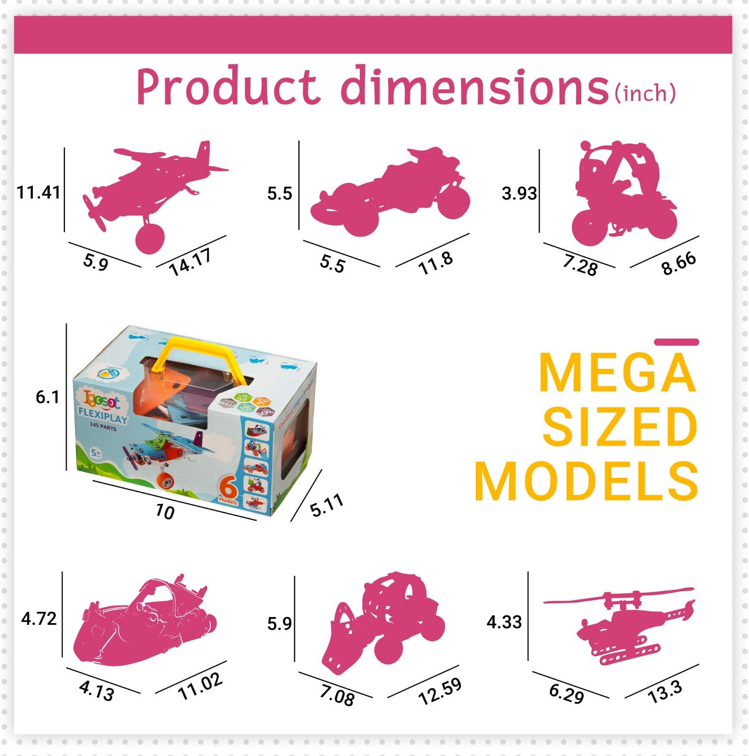 Creative DIY Construction STEM Learning Toy for Kids Best Erector Kit 7 9 Years Old Boy STEM Toys Educational Engineering Model Building Set Girl Age 5 6 8 Toddlers Build and Play