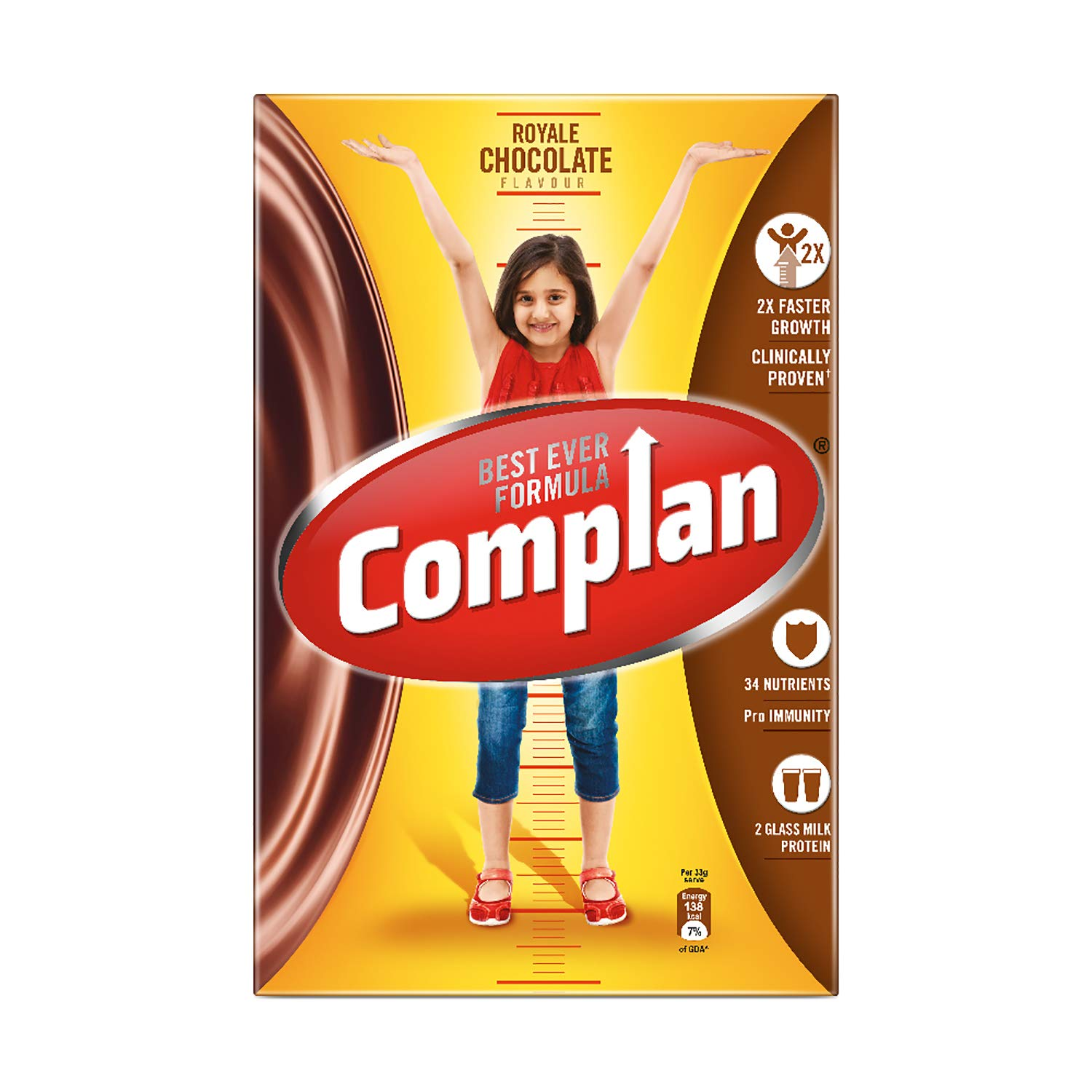 Complan Nutrition and Health Drink Royale Chocolate, 1kg (Carton)