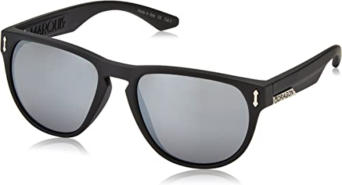 Dragon Alliance Matte Black Silver Ion Marquis Sunglasses
