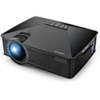 DBPower GP15 1800-Lumens LCD Portable Projector (Black)