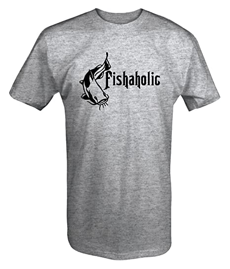 a61402a6 Amazon.com: Fishaholic Catfish Fishing T shirt - 6XL: Clothing