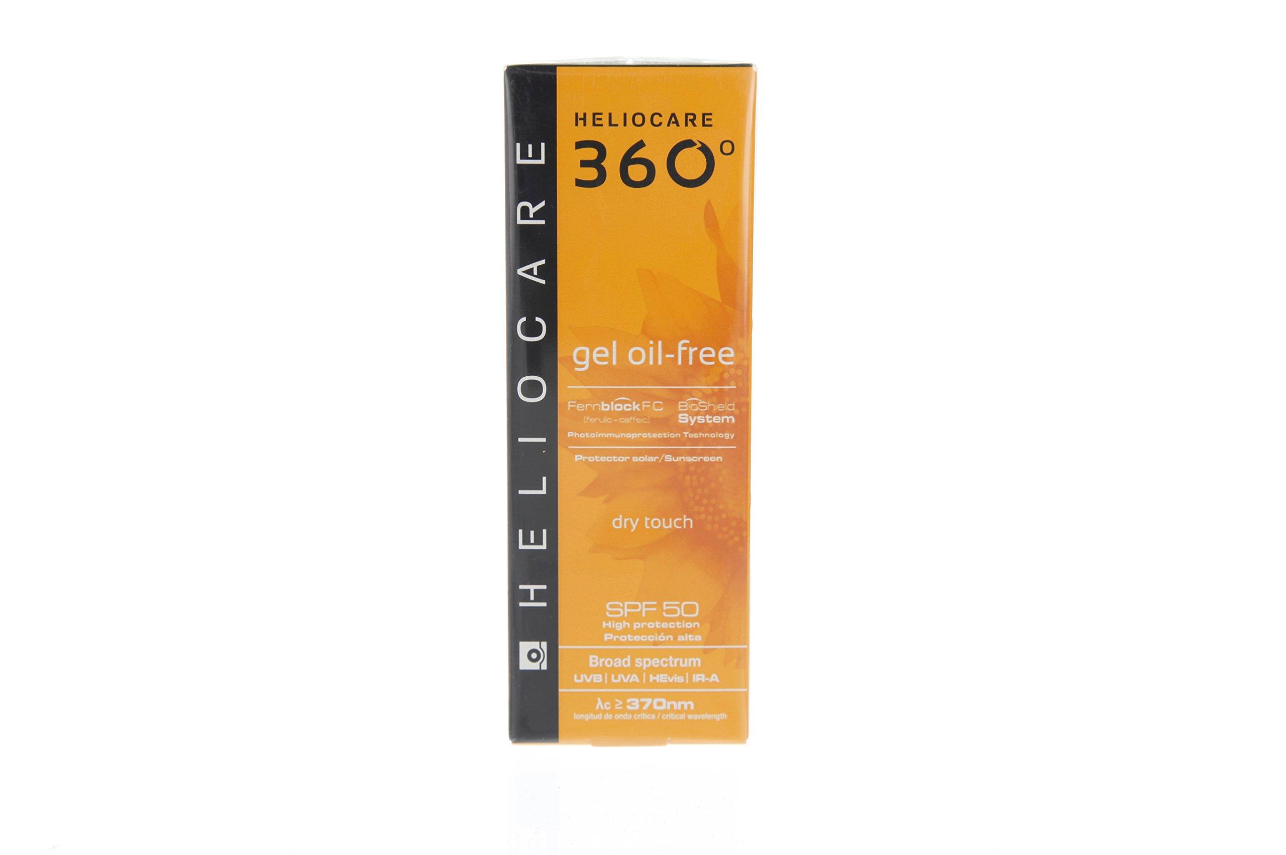 Heliocare 360° Gel Oil-free SPF 50 UVA, UVB Sunscreen 50ml