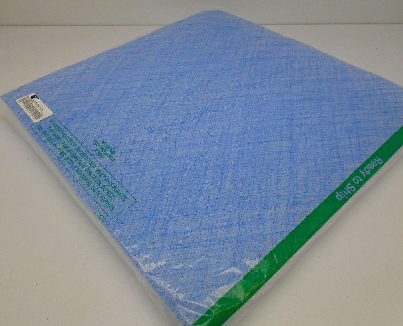 Viskon-Aire 028-203 SG-15 Green 20 x 25 x 2.5 Fiberglass Paint Arrestor 15g Pad