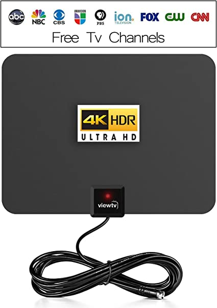 Black U MUST HAVE 2018 Amplified HD Digital Tv Antenna New Open Box