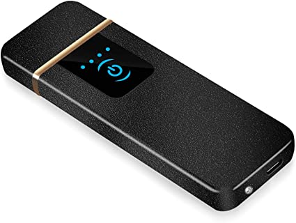 Auratrio Y08 Encendedor Eléctrico, Mechero Recargable USB ...