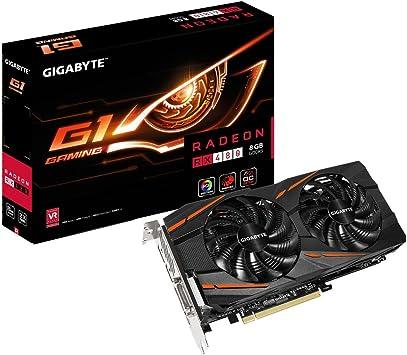 Amazon.com: Gigabyte Radeon RX 480 G1 Gaming 8 GB GDDR5 ...