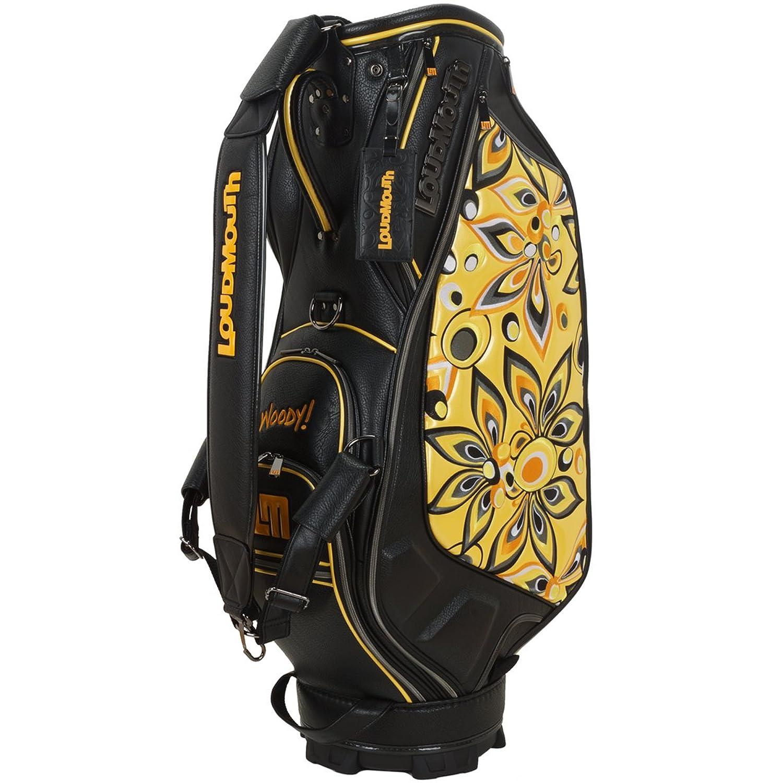 ラウドマウスゴルフ Loud Mouth Golf キャディバッグ 限定 9インチキャディバッグ シャガデリックイエロー B072C5QPHH  シャガデリックイエロー 021
