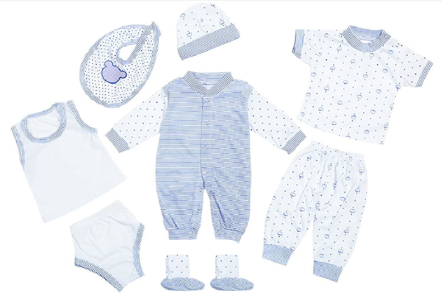 Baby Boys Farm Tractor Soft Cotton Top Trousers /& Bib Layette Outfit  Newborn
