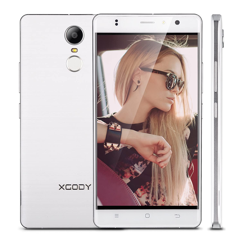 XGODY D20 Smartphone Libre (reconocimiento de Huella Dactilar ...