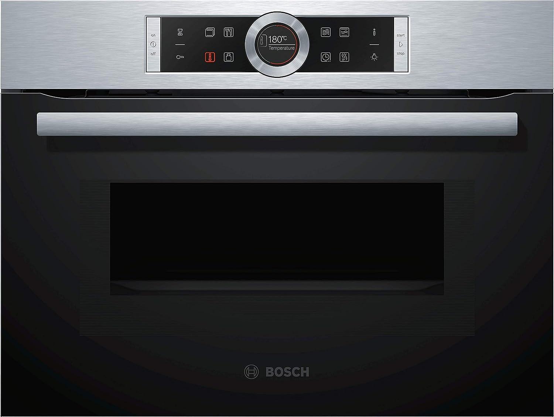 Bosch CMG633BS1 - Microondas (Integrado, 45 L, 1000 W, Tocar, Acero Inoxidable, TFT)