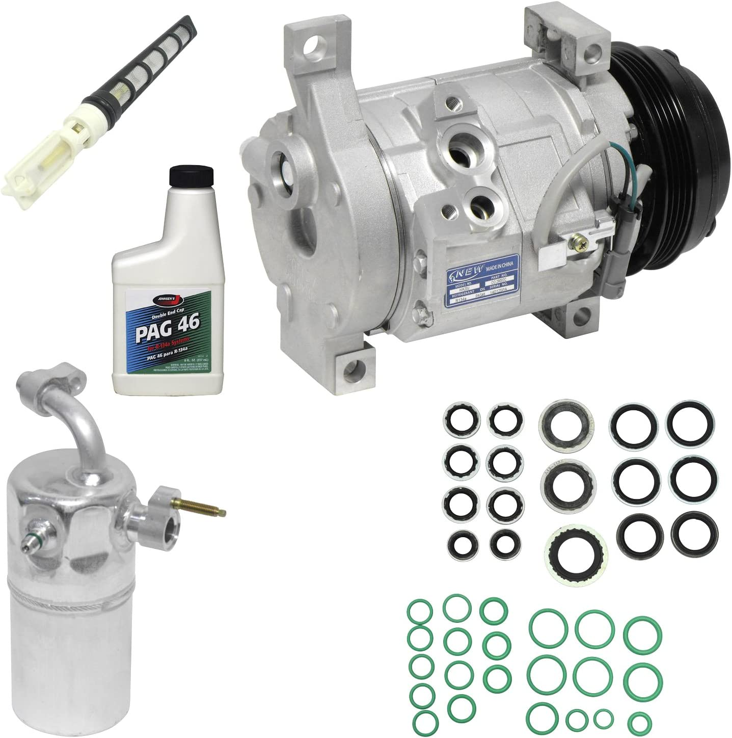 Universal Air Conditioner KT 3730 A//C Compressor and Component Kit