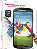 PThink� 0.3mm Ultra-thin Tempered Glass Screen Protector for Samsung Galaxy S4 with 9H Hardness/Anti-scratch/Fingerprint resistant (Samsung Galaxy S4)