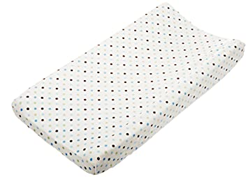Amazon.com: Carters Super Soft Printed Changing Pad Cover ...