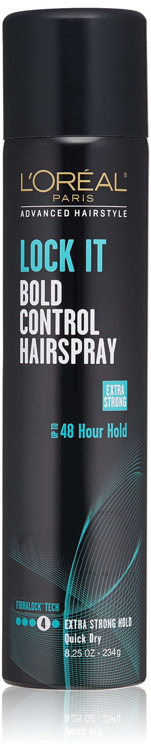 L'Oréal Paris Advanced Hairstyle LOCK IT Bold Control Hairspray, 8.25 oz. (Packaging May Vary)