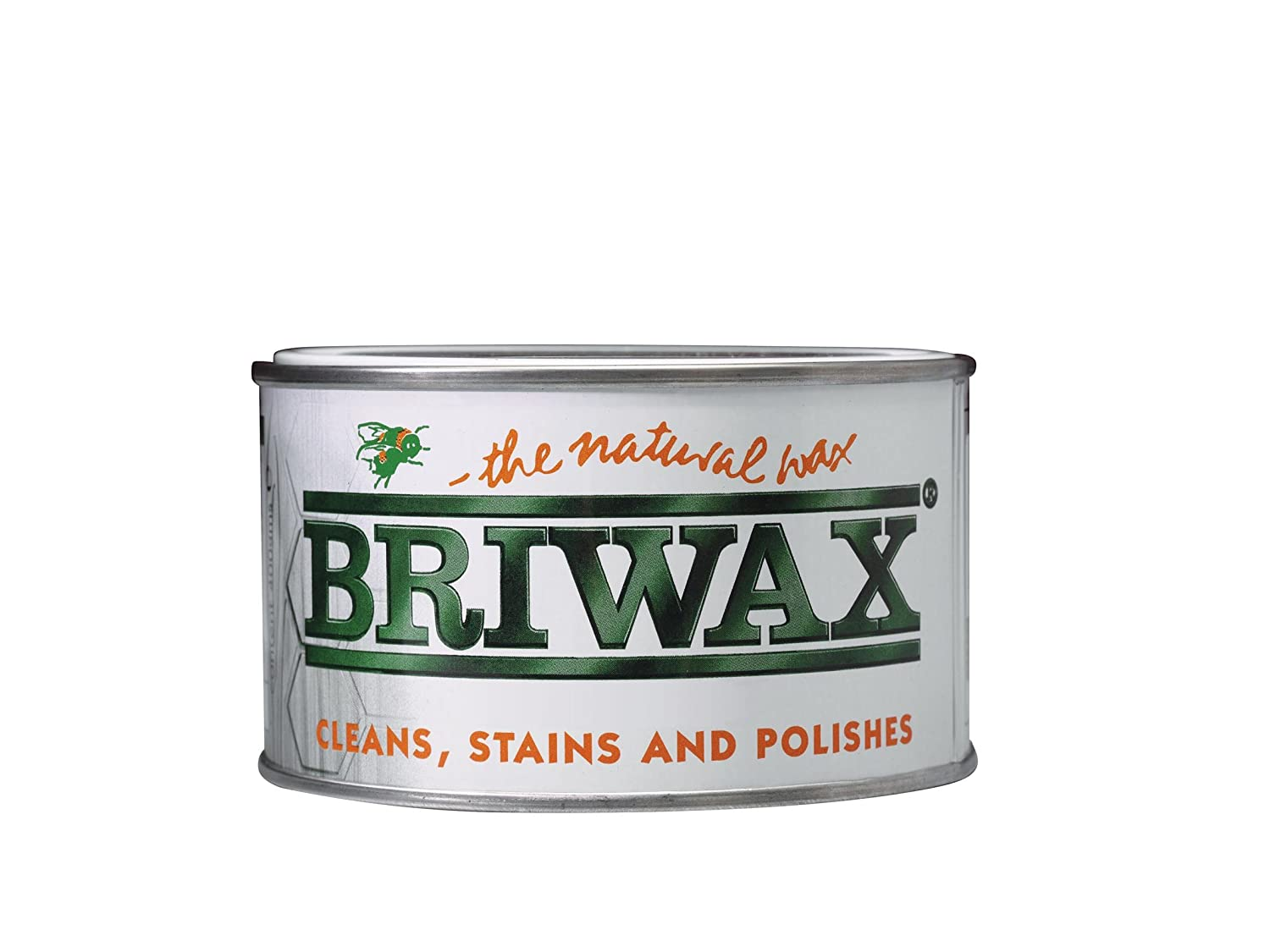 BRIWAX ORIGINAL fast drying Wax Polish (Tudor Oak, 400 gram) BRWWPTO400 B000TAUI30