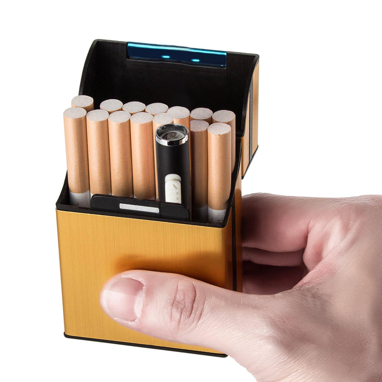 Mini Briquet Électrique Briquet d'Anti-vent Rechargeable USB pour fumeur