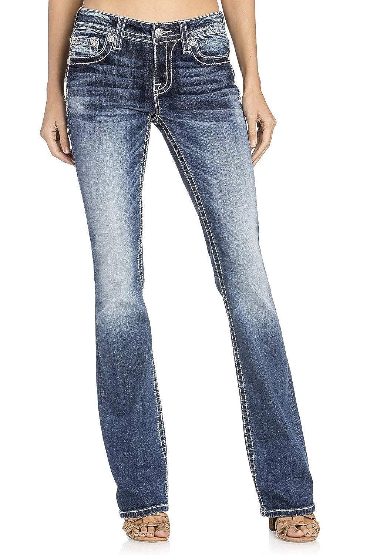 Amazon.com: Miss Me – Pantalones vaqueros para mujer con ...