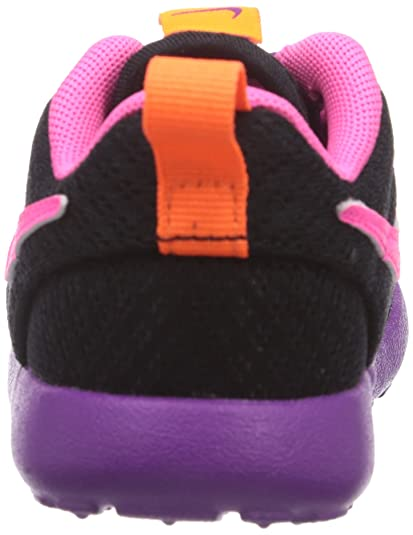 eghdb Nike Roshe Run, Girls\' Low-Top Sneakers, Black, 12.5 UK: Amazon.co