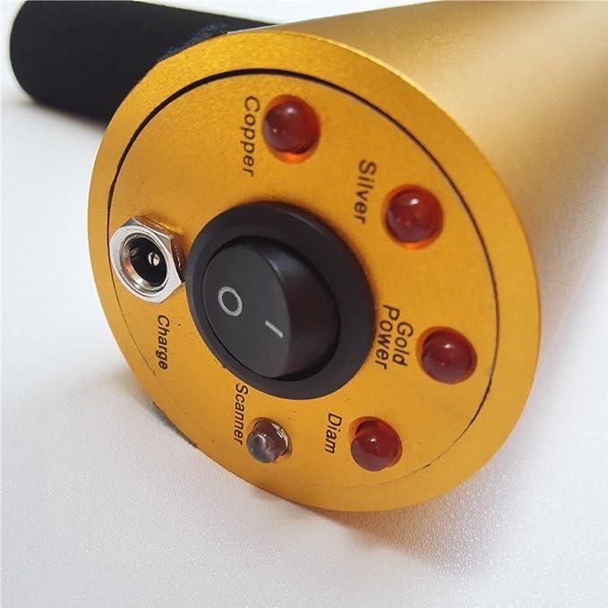 dchouse AKS 800 M gama detector de metales Detección máquina cobre tesoros: Búsqueda: Amazon.es: Hogar