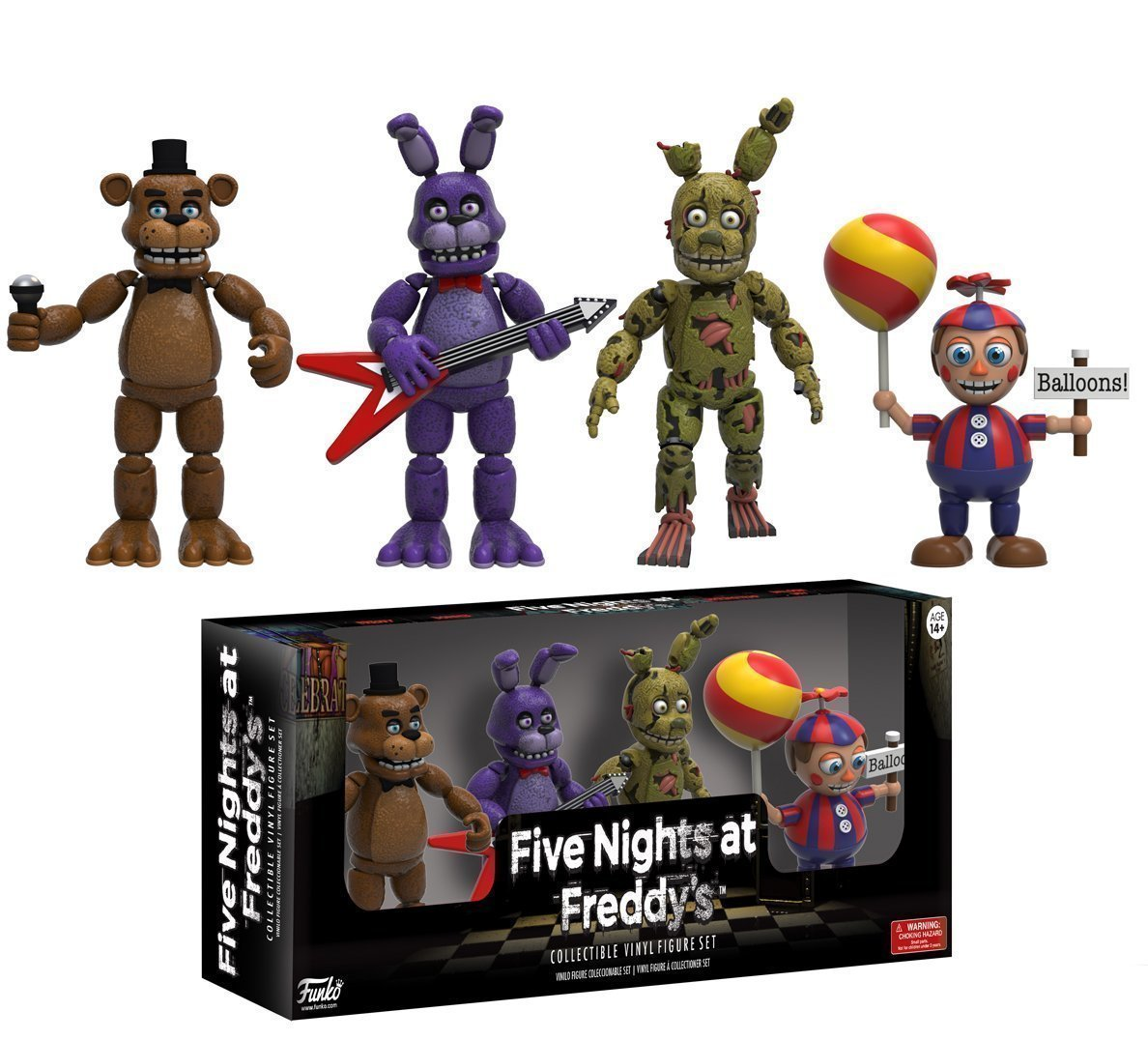 Other Action Figures Nice Five Night At Freddys Mini Figures