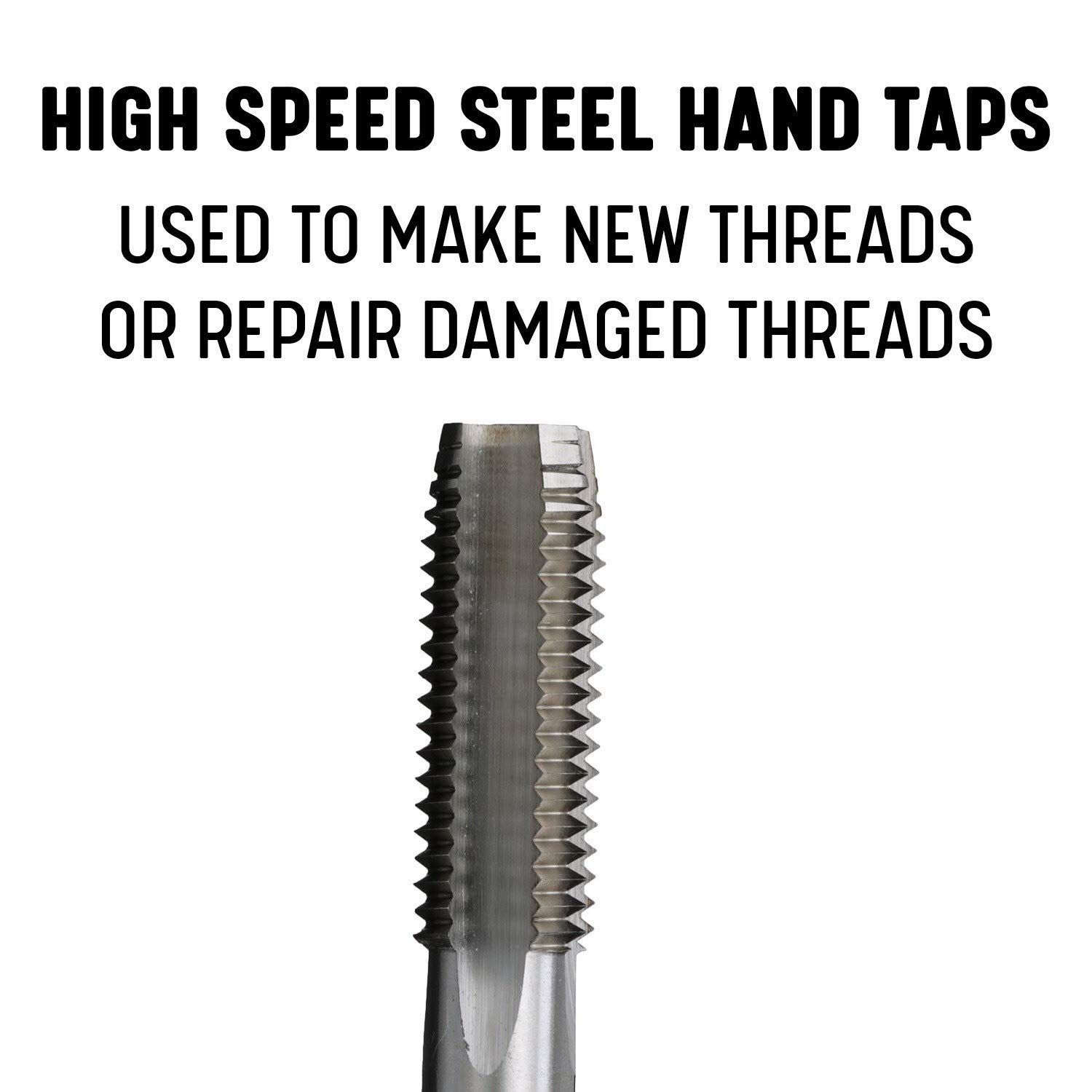 Drill America 1-1//4-7 UNC High Speed Steel Tap Set