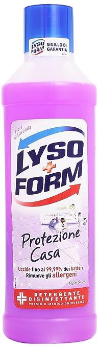 4 opinioni per Lysoform- Detergente Disinfettante Fiori di Lavanda, Protezione Casa- 1000 ml