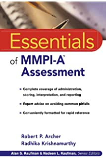 Amazon mmpi a assessing adolescent psychopathology essentials of mmpi a assessment essentials of psychological assessment series fandeluxe Image collections