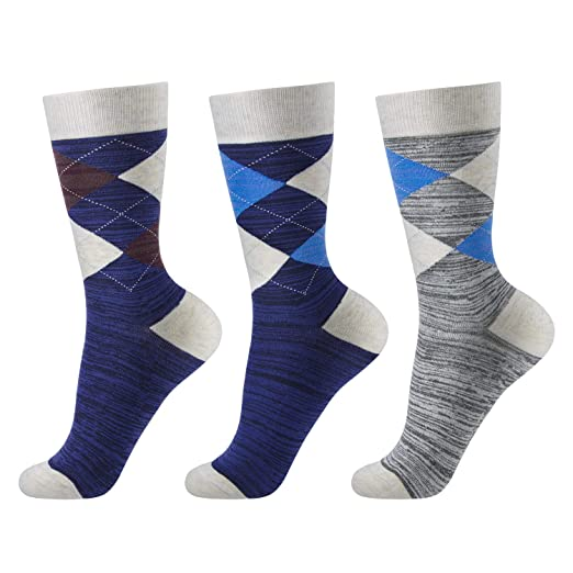 Confident Match-up Mens Colorful Combed Cotton Socks Men Socks Underwear & Sleepwears