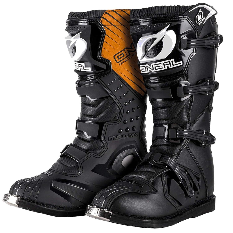 O'Neal Rider Boot MX Stiefel Schwarz Moto Cross Motorrad Enduro Boots, 0329-1,...