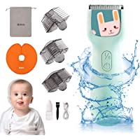 Bololo baby hair clippers - silent hair clippers for kids Quiet Children Hair Trimmer with Autism, Hair Cutting Kits…