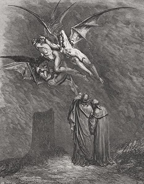 Amazon Com Engraving By Gustave Dore 1832 1883 French