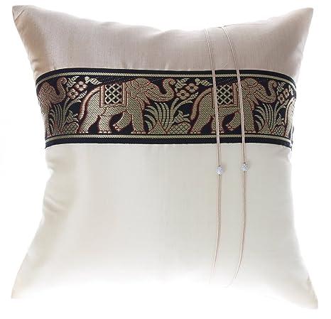 Amazon.com: Avarada - Funda de cojín decorativa con diseño ...
