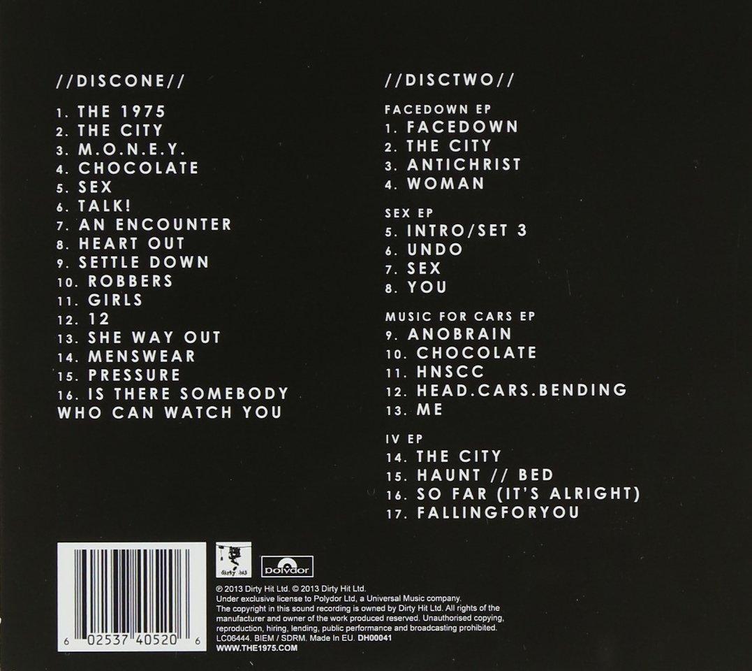 The 1975 Deluxe Edition Amazon De Musik Cds Vinyl