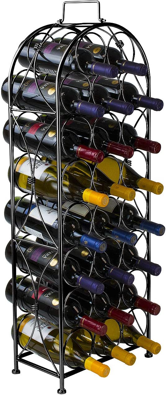 Sorbus Wine Rack Bordeaux Chateau Style