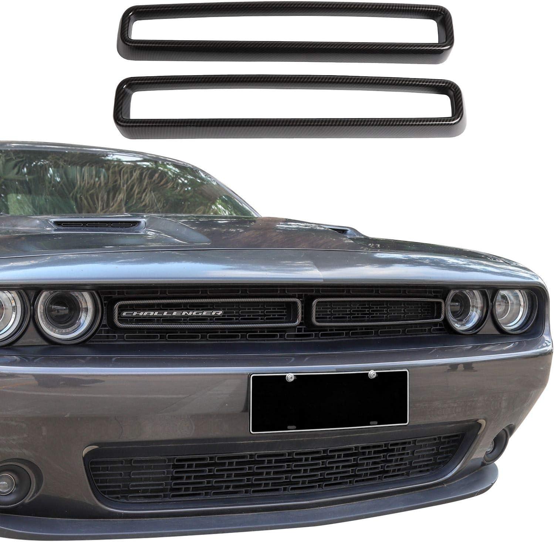 ABS Red//Black Texture 1pc Voodonala for Challenger Roof Window Handle Trim for 2012-2020 Dodge Challenger