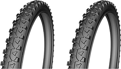 ONOGAL 2X Cubierta Rueda Neumatico para Bicicleta Mountain Bike MTB 26
