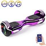 Amazon.com: SISIGAD Hoverboard, Self Balancing Hoverboard ...