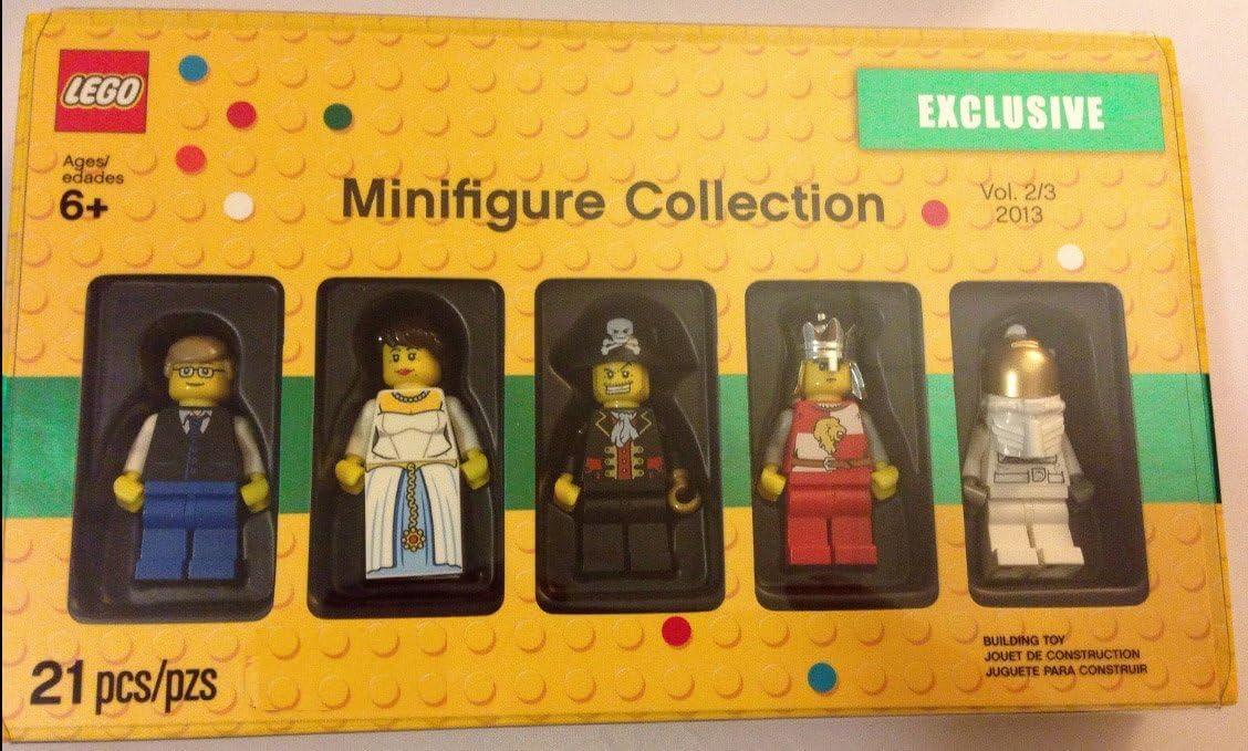 LEGO MINIFIGURES MINIFIGURE COLLECTION VOL 3//3 2013 5 FIGURES I SHIP EVERYDAY