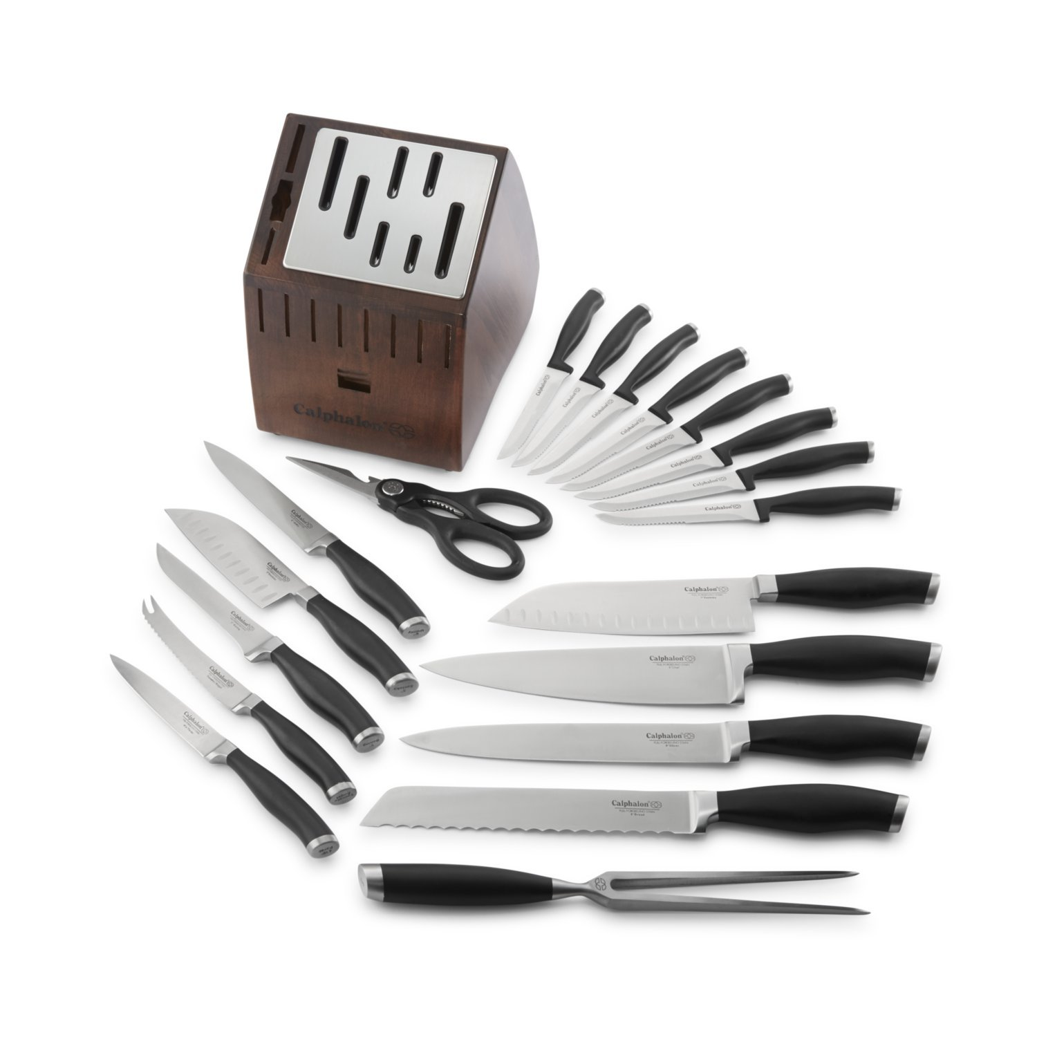Calphalon Contemporary Self-sharpening 20-piece Knife Block Set, with SharpIn Technology