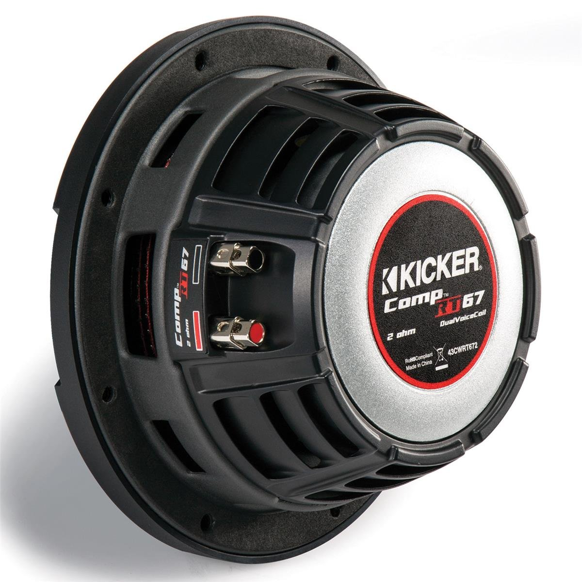 Kicker CompRT 6.75'' 1-Ohm Subwoofer by Kicker (Image #5)