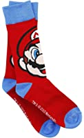 Super Mario Mario Socken rot/blau