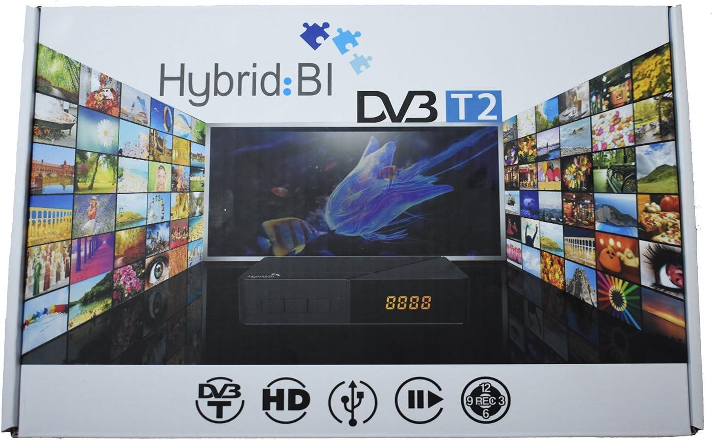 HYBRID:BI RECEPTOR DE DVB-T2 HD: Amazon.es: Electrónica