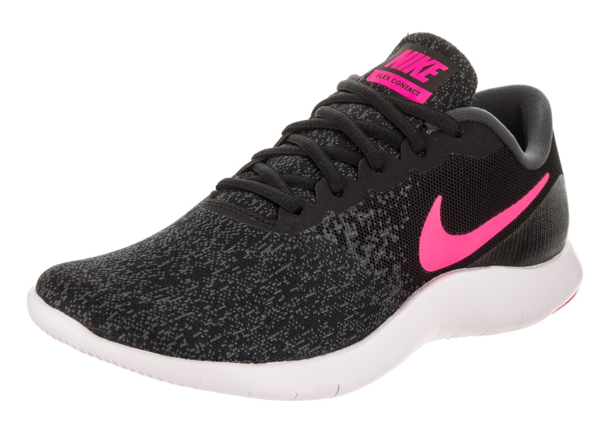 NIKE Women's Flex Contact Running Shoe B075Z1QYWP 8 B(M) US|Black/Hyper Pink-anthracite-white